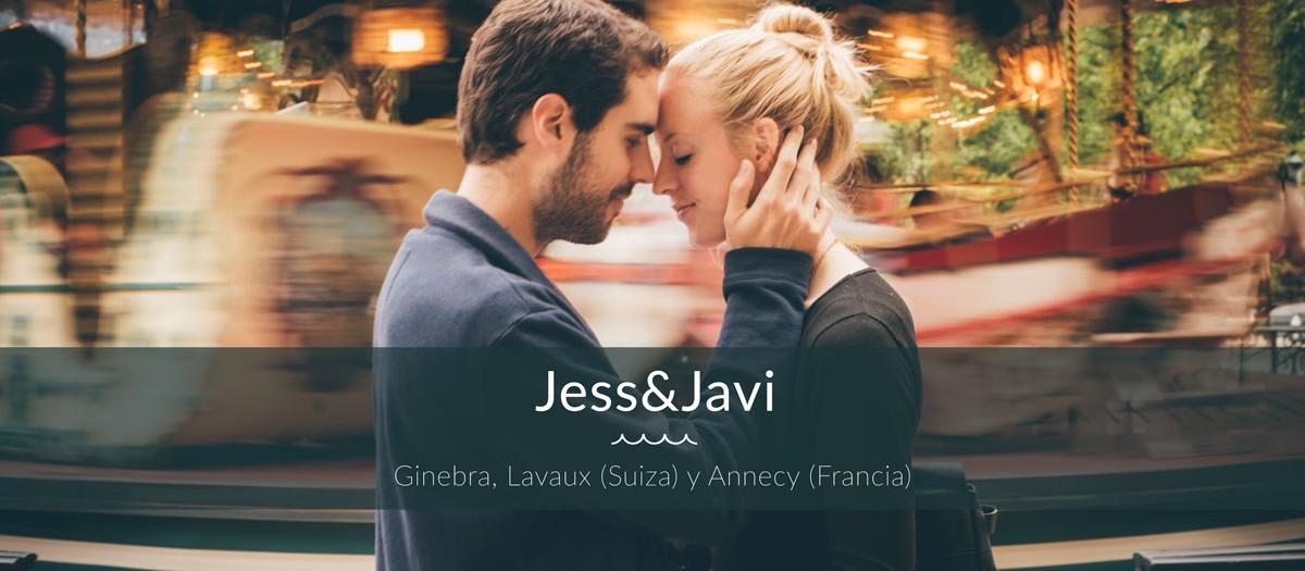 Jessica&Javi - Romantic walk in Geneva